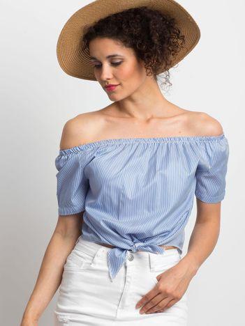 Niebieska bluzka Ladylike