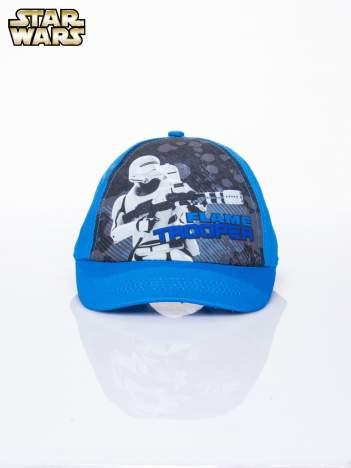 Niebieska chłopięca czapka z daszkiem STAR WARS