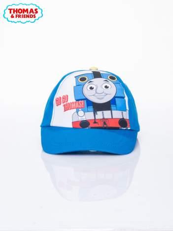 Niebieska chłopięca czapka z daszkiem TOMEK I PRZYJACIELE