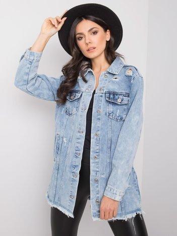 Niebieska jeansowa kurtka Maddalyn