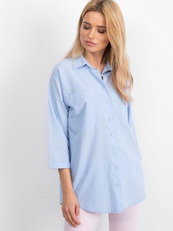Niebieska koszula Carnivore
