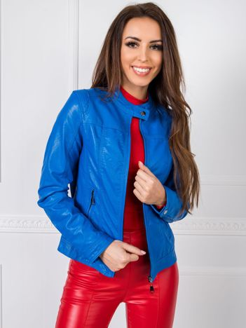 Niebieska kurtka Peyton