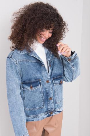 Niebieska kurtka jeansowa BSL