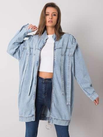 Niebieska kurtka jeansowa Taylee RUE PARIS