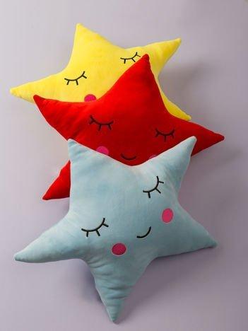 Niebieska poduszka Gwiazda