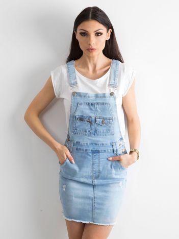 Niebieska spódnica Freshly