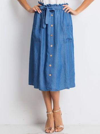 Niebieska spódnica Restorative
