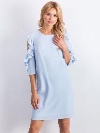 Niebieska sukienka Brilliance