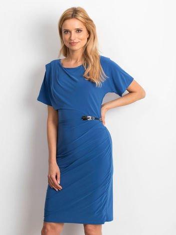 Niebieska sukienka Freedom