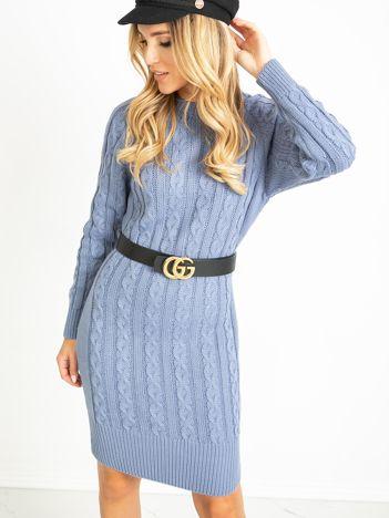 Niebieska sukienka Glory