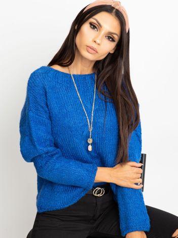 Niebieski sweter Tiffany