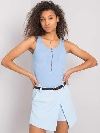 Niebieskie eleganckie szorty Zoie