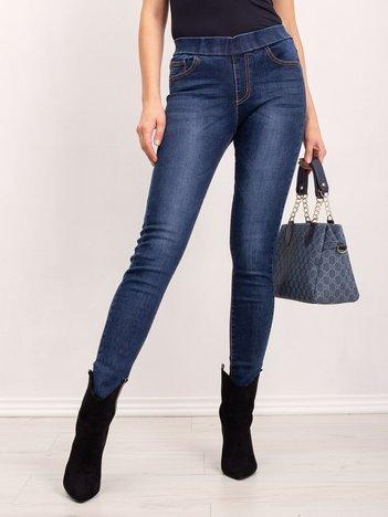 Niebieskie jeansy Belong