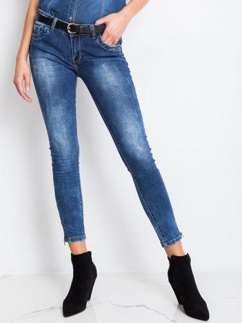 Niebieskie jeansy Bottom