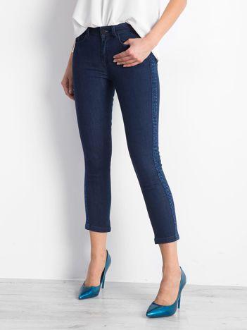 Niebieskie jeansy Charismatic