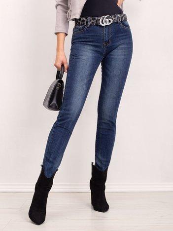 Niebieskie jeansy Illusion