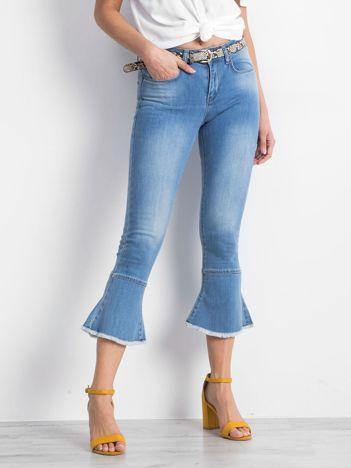 Niebieskie jeansy Marshaled