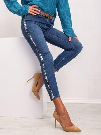Niebieskie jeansy Swan
