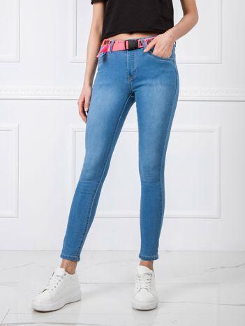 Spodnie jeansowe damskie, modne i tanie jeansy damskie w