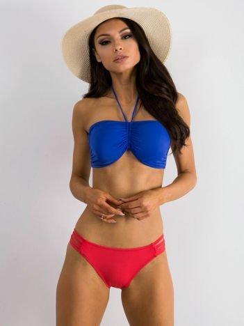 Niebiesko-koralowy strój kąpielowy Promoted