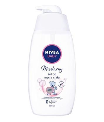 """Nivea Baby Żel do mycia ciała micelarny  500ml"""""""