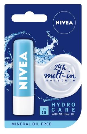Nivea Lip Care Pomadka ochronna HYDRO CARE 4.8g