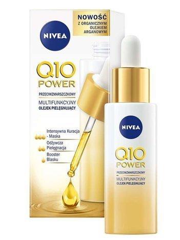 Nivea Q10 Power Multifunkcyjny Olejek pielęgnujący przeciwzmarszczkowy  30 ml