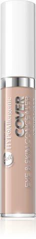 Nowość! BELL HYPOAllergenic Hypoalergiczny korektor kamuflujący COVER EYE&SKIN CONCEALER 35
