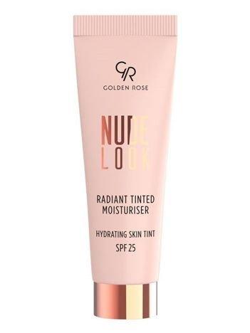 Nowość! GOLDEN ROSE Nude Look Koloryzujący krem z efektem rozświetlenia nr 02 Medium Tint  32 ml