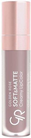 Nowość!!! GOLDEN ROSE Soft & Matte Creamy Lip Color matowa pomadka 101 5,5 ml