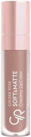 Nowość!!! GOLDEN ROSE Soft & Matte Creamy Lip Color matowa pomadka 103 5,5 ml