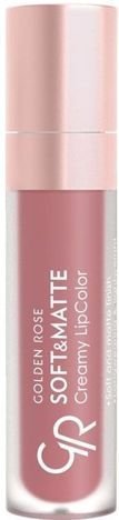 Nowość!!! GOLDEN ROSE Soft & Matte Creamy Lip Color matowa pomadka 108 5,5 ml