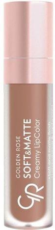 Nowość!!! GOLDEN ROSE Soft & Matte Creamy Lip Color matowa pomadka 118 5,5 ml
