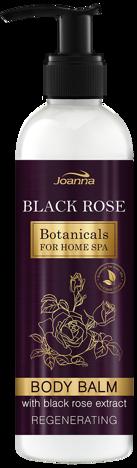Nowość! JOANNA BOTANICALS FOR HOME SPA Balsam do ciała Czarna róża regenerujący 250 g