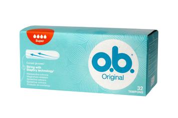 O.B. Original Super Tampony 32 szt.
