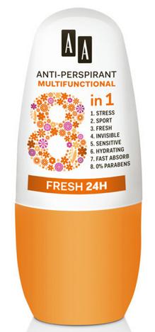 OCEANIC AA DEO ANTI-PERSPIRANT Dezodorant Multifunctional 8in1 Fresh 24 h 50 ml