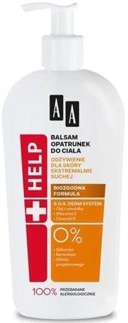 OCEANIC AA Help Balsam Opatrunek do ciała do skóry ekstremalnie suchej400 ml