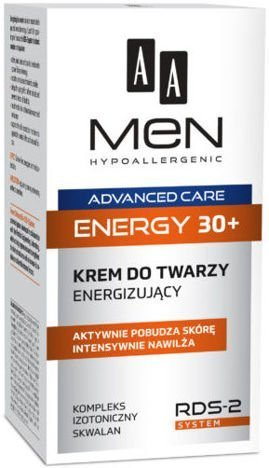 OCEANIC AA MEN ADVANCED CARE ENERGY 30+ Krem do twarzy energizujący 50 ml