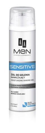 OCEANIC AA MEN Sensitive Żel do golenia nawilżający do skóry bardzo wrażliwej 200 ml
