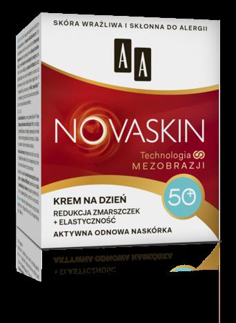 OCEANIC AA NOVASKIN 50+ krem na dzień redukcja zmarszczek+elastyczność 50 ml