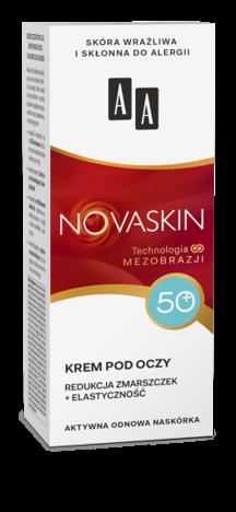 OCEANIC AA NOVASKIN 50+ krem pod oczy redukcja zmarszczek+elastyczność 15 ml