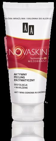 OCEANIC AA NOVASKIN aktywny peeling enzymatyczny eksfoliacja+nawilżenie 75 ml