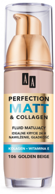 OCEANIC AA PERFECTION MATT&COLLAGEN Podkład matujący 106 golden beige 35 ml