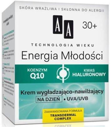 OCEANIC AA Technologia Wieku 30+ Energia Młodości Krem wygładzająco-nawilżający na dzień 50 ml