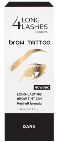 OCEANIC Long4Lashes Brow tattoo long lasting brow tint 24H Dark 8 ml