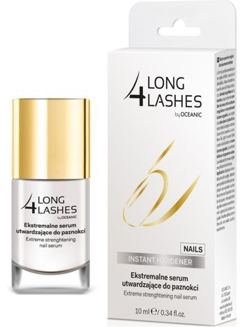 OCEANIC Long4Lashes Nails Ekstremalne serum utwardzające do paznokci 10 ml