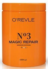 O'REVLE MAGIC REPAIR Regenerująca i nawilżająca maska do włosów osłabionych 1000 ml
