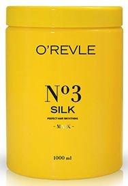 O'REVLE Silk Maska wygładzająca do włosów suchych i matowych 1000 ml