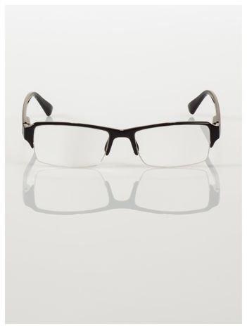Okulary korekcyjne +1.5 D do czytania z systemem FLEX na zausznikach +GRATIS PLASTIKOWE ETUI I ŚCIERECZKA Z MIKROFIBRY