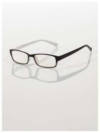 Okulary korekcyjne dwukolorowe do czytania +1.0 D